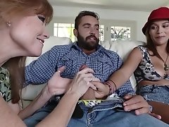 First Time Teen Threesome For Karter Foxxx And Darla Crane