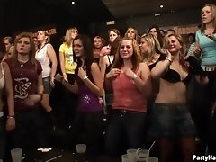 Strong Alphas Fuck Teen Girls At A Sorority Party