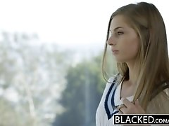 BLACKED Daughter Sydney Coles Very first Big black cock